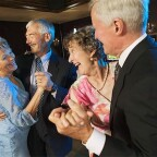 673-02138472 Model Release: Yes Property Release: Yes Senior couples on the dance floor.